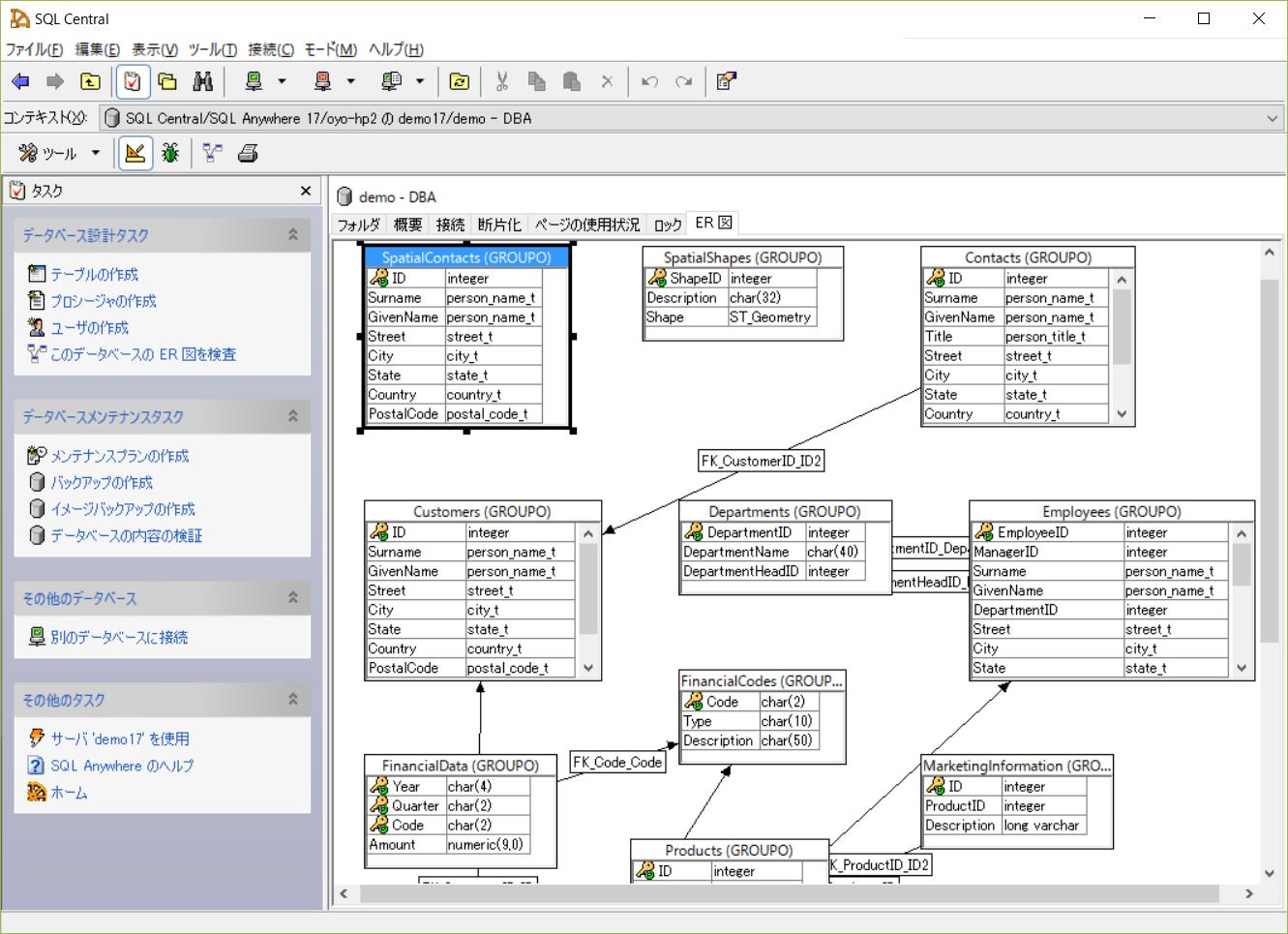 高性能自己解決型RDBMS